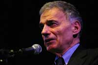 Ralph Nader at Rio Theater, Jan 24.