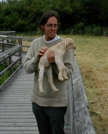 Jared With Goat.JPG